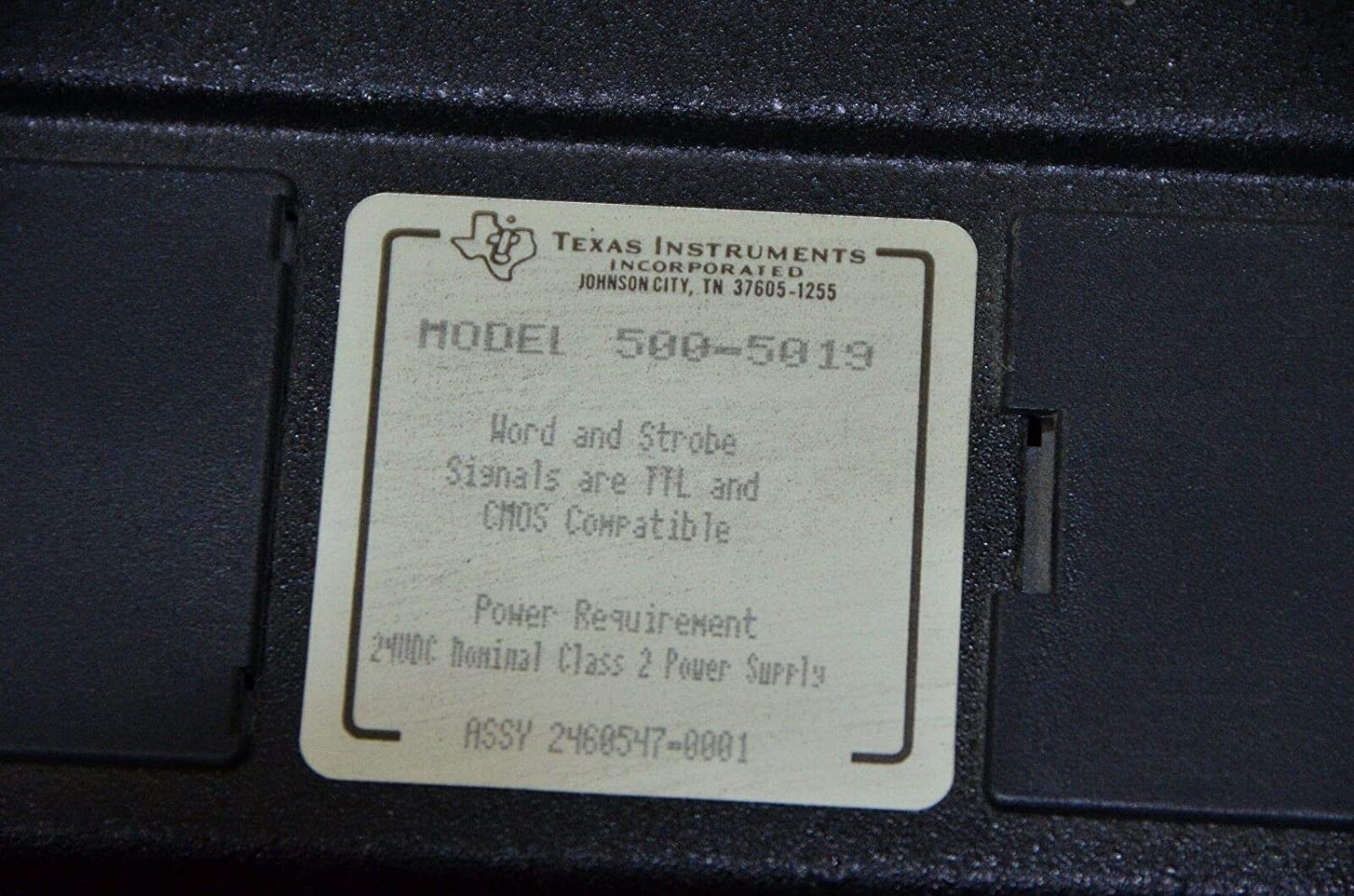 Texas Instruments 500-5019 WORD OUTPUT MODULE ASSY NO 2460547-0001