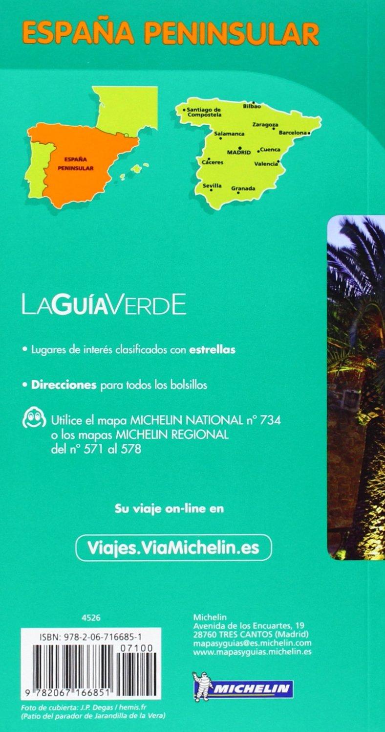 España Peninsular Con Mapa Tráfico. Pack Guía Verde La Guía Verde Michelin: Amazon.es: Vv.Aa.: Libros