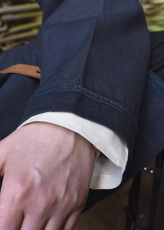 Battle-Merchant Mittelalter Tunika Albrecht Albrecht Albrecht mit Borte, langarm aus Baumwolle - Rot o. Blau - S - XXL - Wikinger LARP Kleidung Kostüm Hemd Herren B07K6R6H7V Freizeit Große Auswahl f14c83