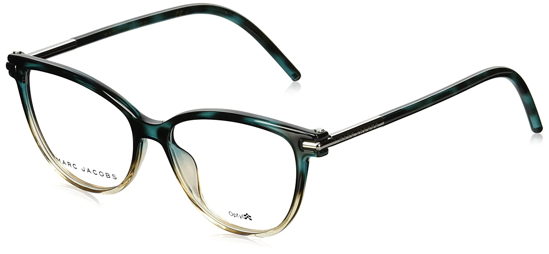 Marc Jacobs Marc 50 0TOZ Havana Teal Pink Eyeglasses MARC50TOZ52_TOZ
