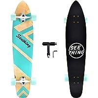 seething 42 Inch Longboard Skateboard Complete Cruiser Pintail,The Original Artisan Maple Skateboard Cruiser Pintail for…