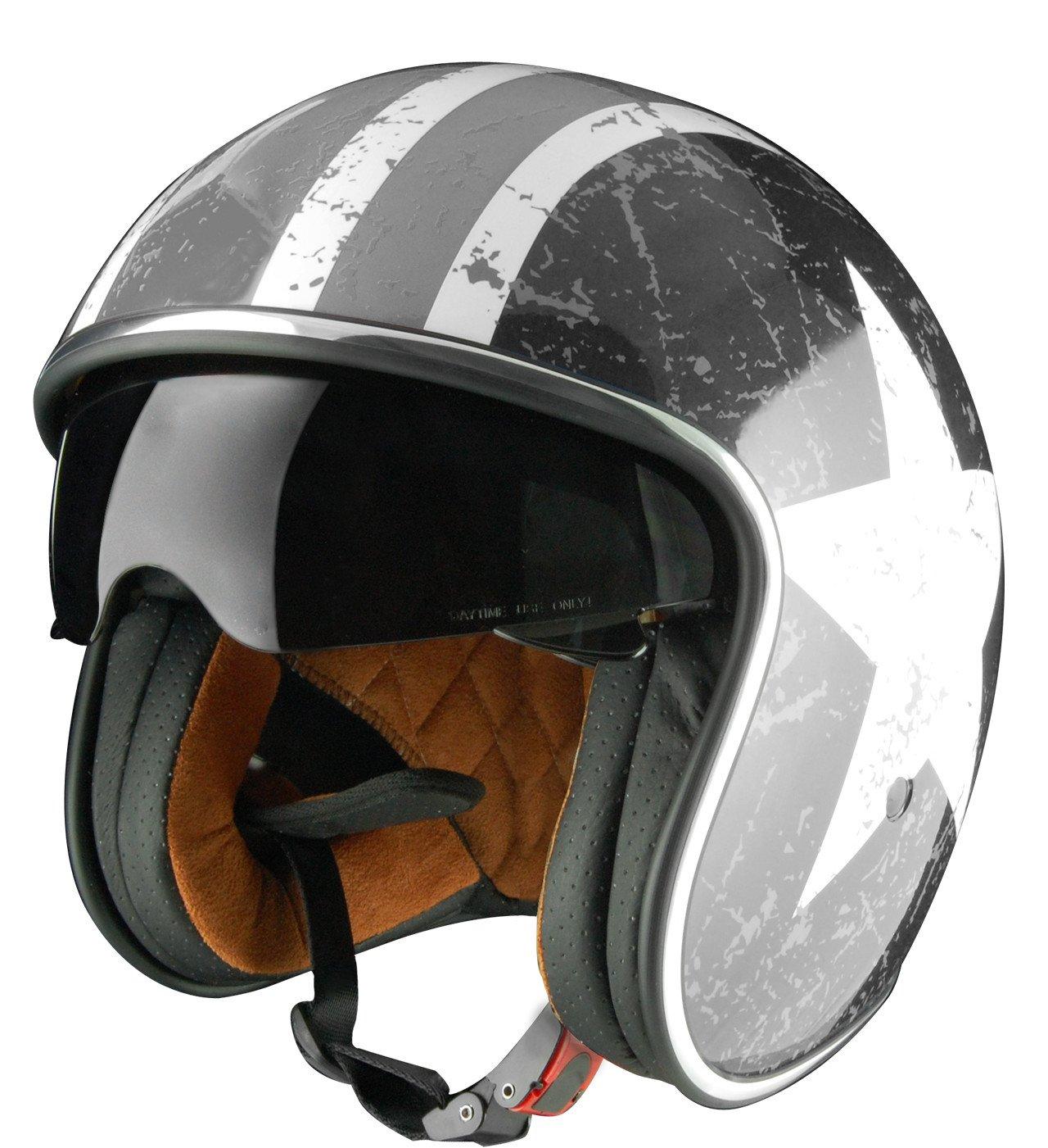 Origine helmets Casques Sprint Casques ouVerts Blanc//Gris Star M