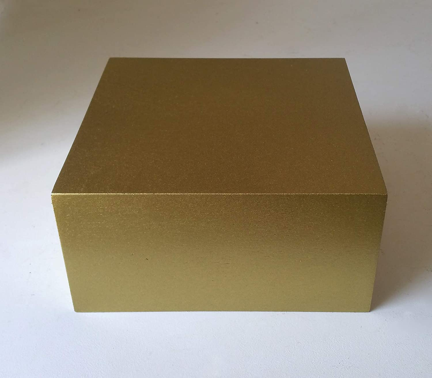 Gold Display Riser 10 x 10 x 5
