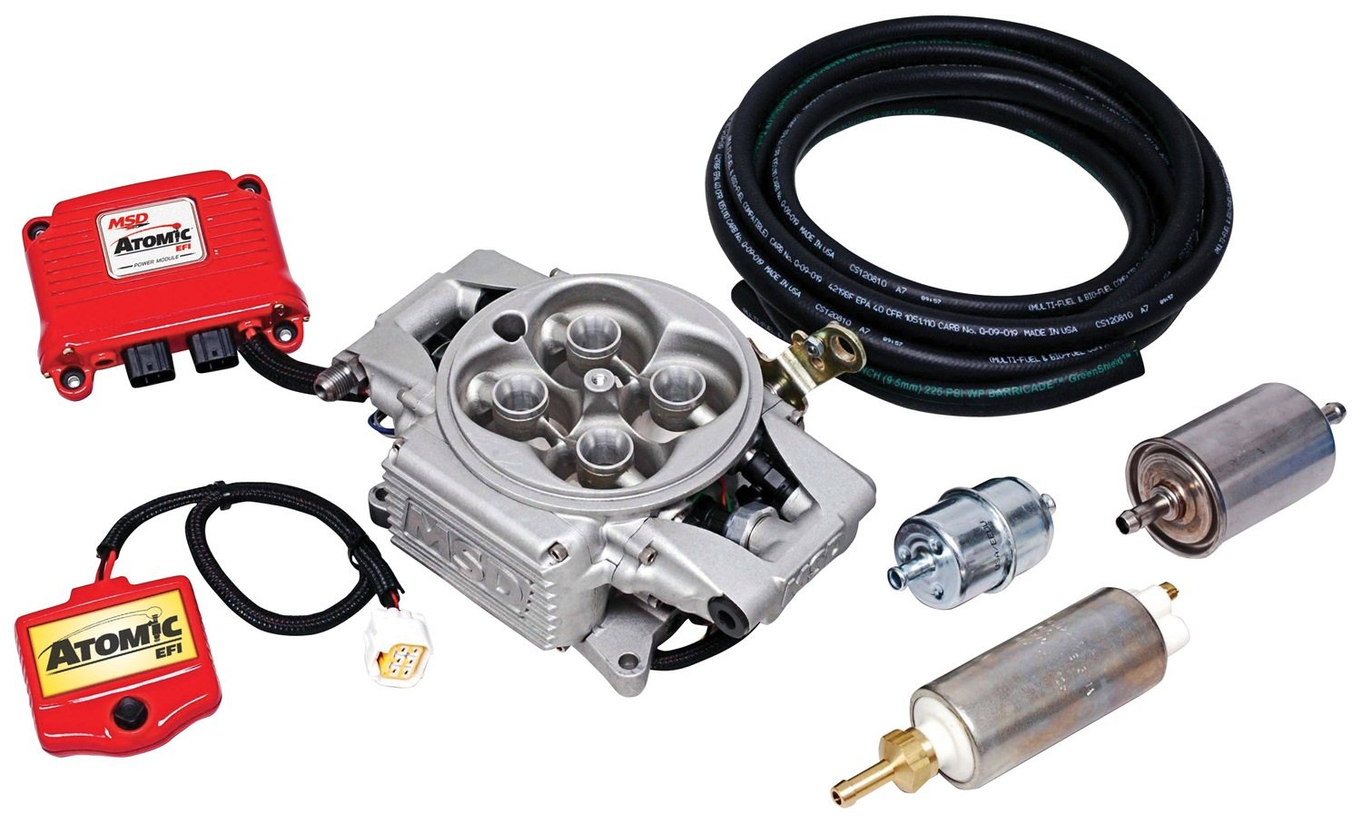 Msd 2900 Atomic Efi Master Kit Automotive 5 3l Wiring Harness