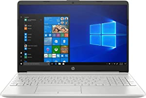 "2020 Newest HP 15 15.6"" Touchscreen Laptop Computer, 10th Gen Intel Quad-Core i5 1035G1 (Beats i7-7500U), 12GB DDR4 RAM, 1TB HDD, Webcam, Microphones, iPuzzle Mouse Pad, Windows 10, Online Class Ready"