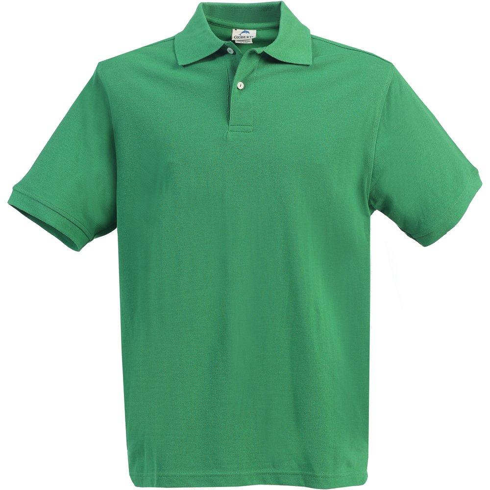 B-One Little Kids Unisex Green Short Sleeve School Uniform Polo Shirt 5
