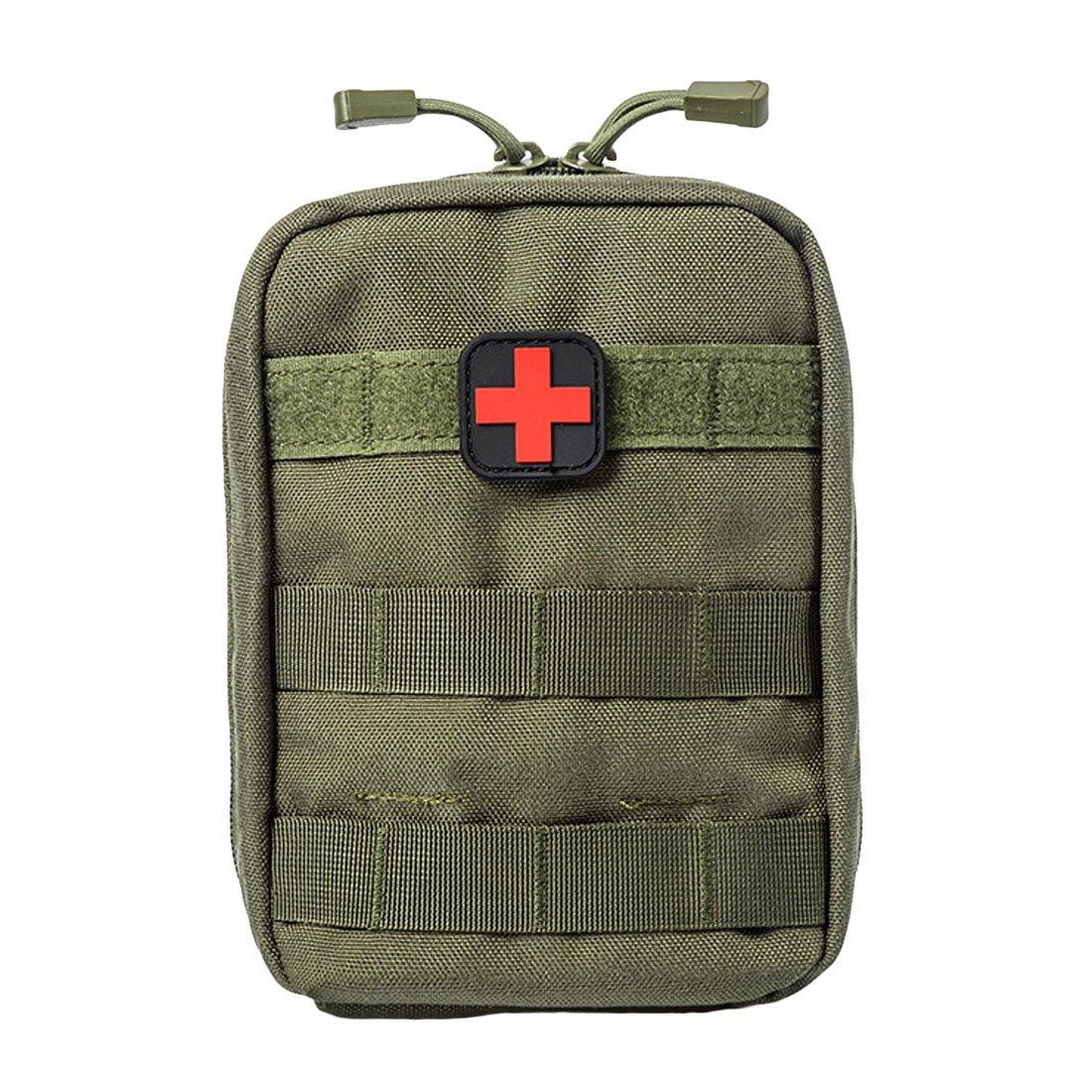 UU19EE Bolsa médica de Primeros Auxilios, Bolsa de Utilidad táctica, Negro de Nylon 1000D