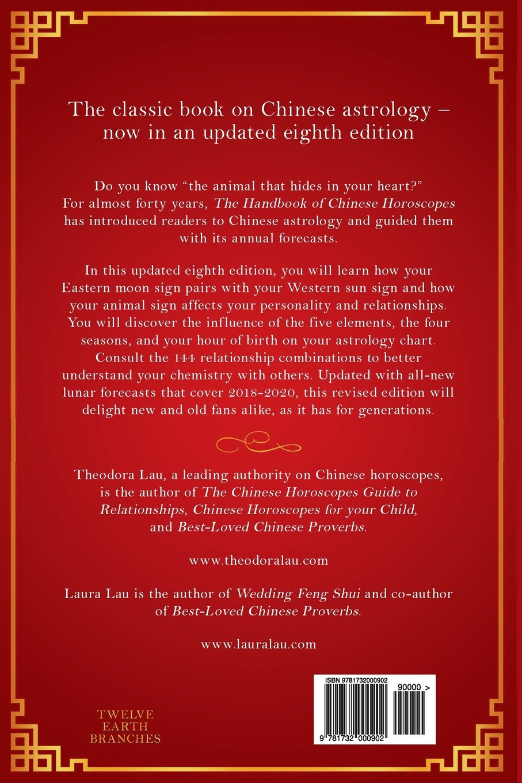 The Handbook Of Chinese Horoscopes Theodora Lau Laura Lau