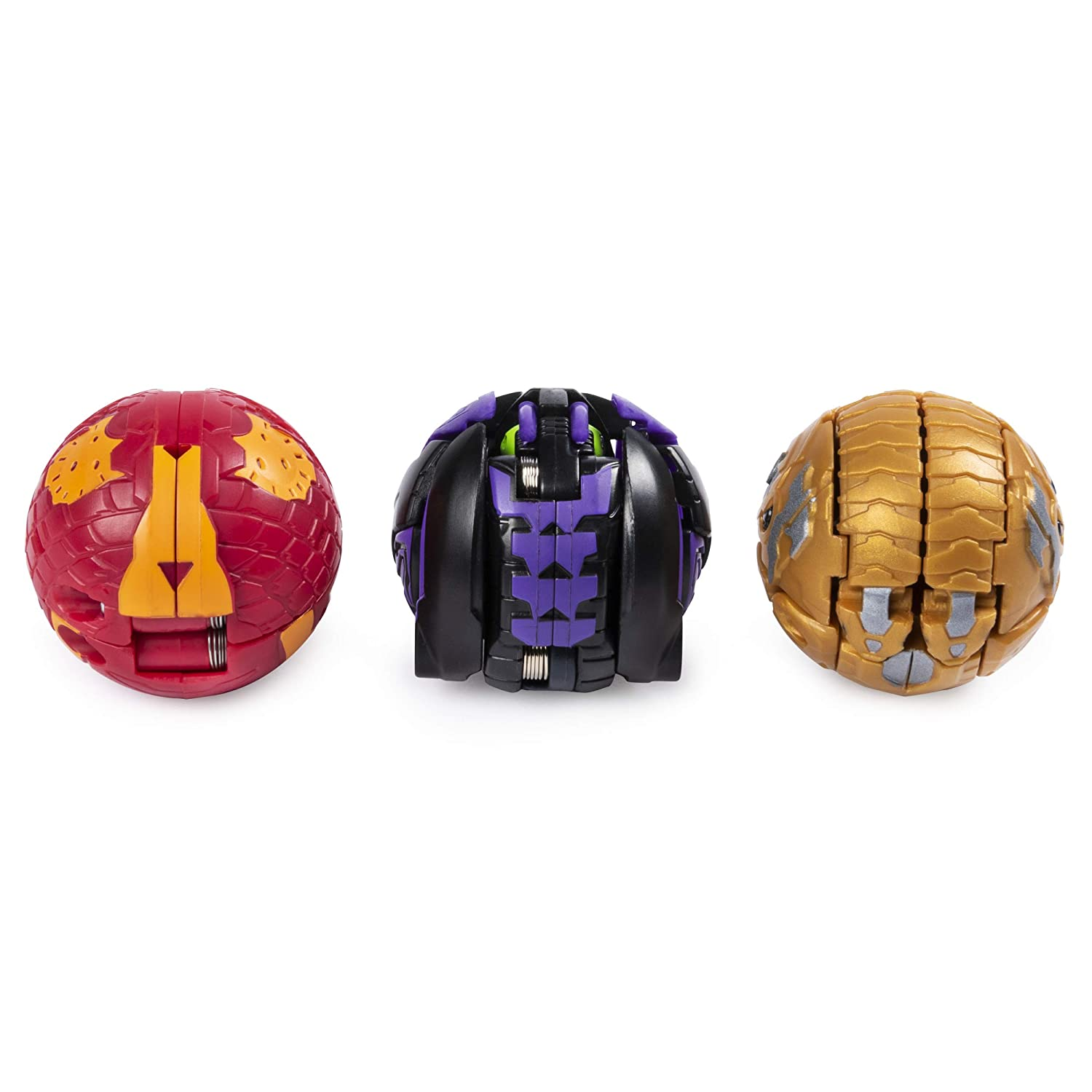 Bakugan Starter Pack 3-Pack for Ages 6 and Up Collectible Transforming Creatures Maxotaur