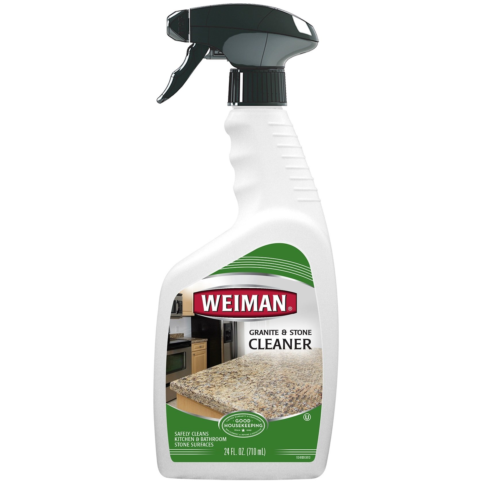 Weiman Granite Cleaner - 24 Ounce - For Granite Marble Soapstone Quartz Quartzite Slate Limestone Corian Laminate Tile Countertop and More by Weiman