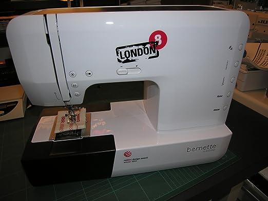 Bernina Bernette 25 - Máquina de coser electrónica (con 155 tipos de costura y alfabeto): Amazon.es