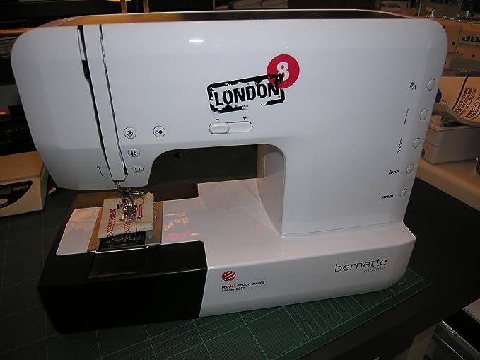 Bernina Bernette 25 - Máquina de coser electrónica (con 155 tipos ...