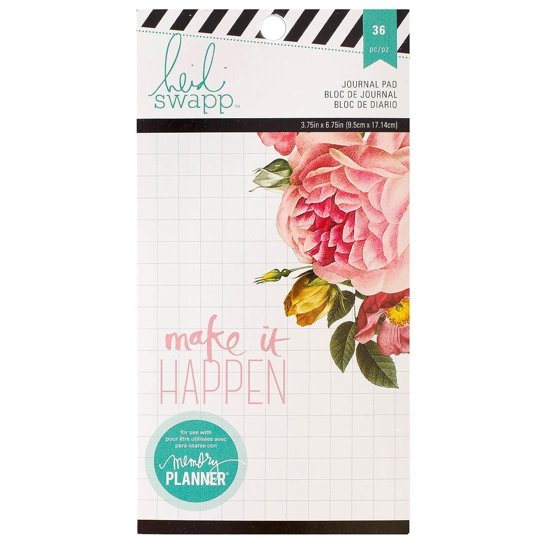 Heidi Swapp Memory Planner - Personal Planner Journal Paper Pad 312592 American Crafts