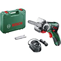 Bosch Cordless Micro Nano Blade Chain Saw Easy Cut 12 (1 Battery, 12 Volt System, 2.5 Ah, in Case)
