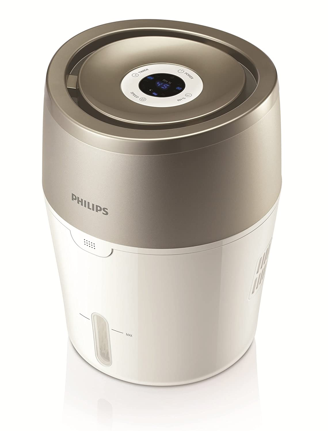 Philips HU4803/01 Humidificateur d'air avec technologie naturelle NanoCloud philips air philips airpurifyer philips airpurifier philips air purifier