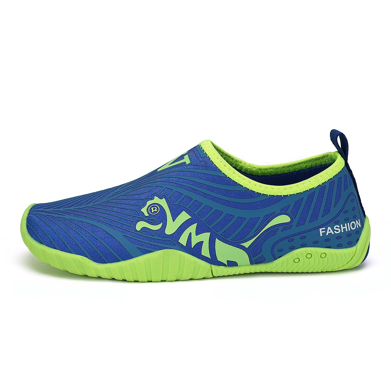 FLARUT Kids Water Shoes Girls Boys Quick-Dry Outdoor Aqua Socks Easy Walking for Beach Swimming Pool Surf Yoga K1707