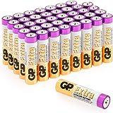 Pack de 40 Piles AAA 1,5V / Micro/Mini/Penlite / LR03 de GP Batteries - Convient pour Une Utilisation Quotidienne dans Une variété d'appareils