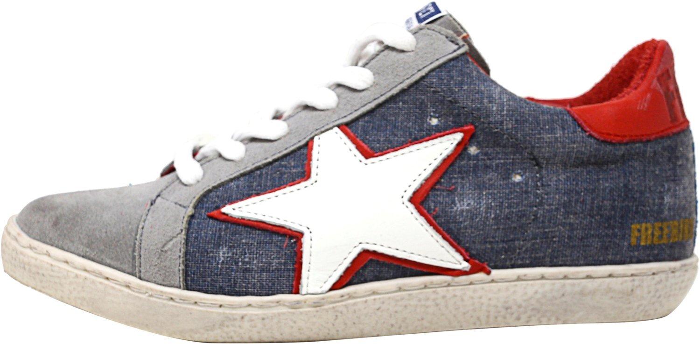 Freebird Women's 927 Fashion Sneaker, Denim Multi, 9 M US by Freebird (Image #5)