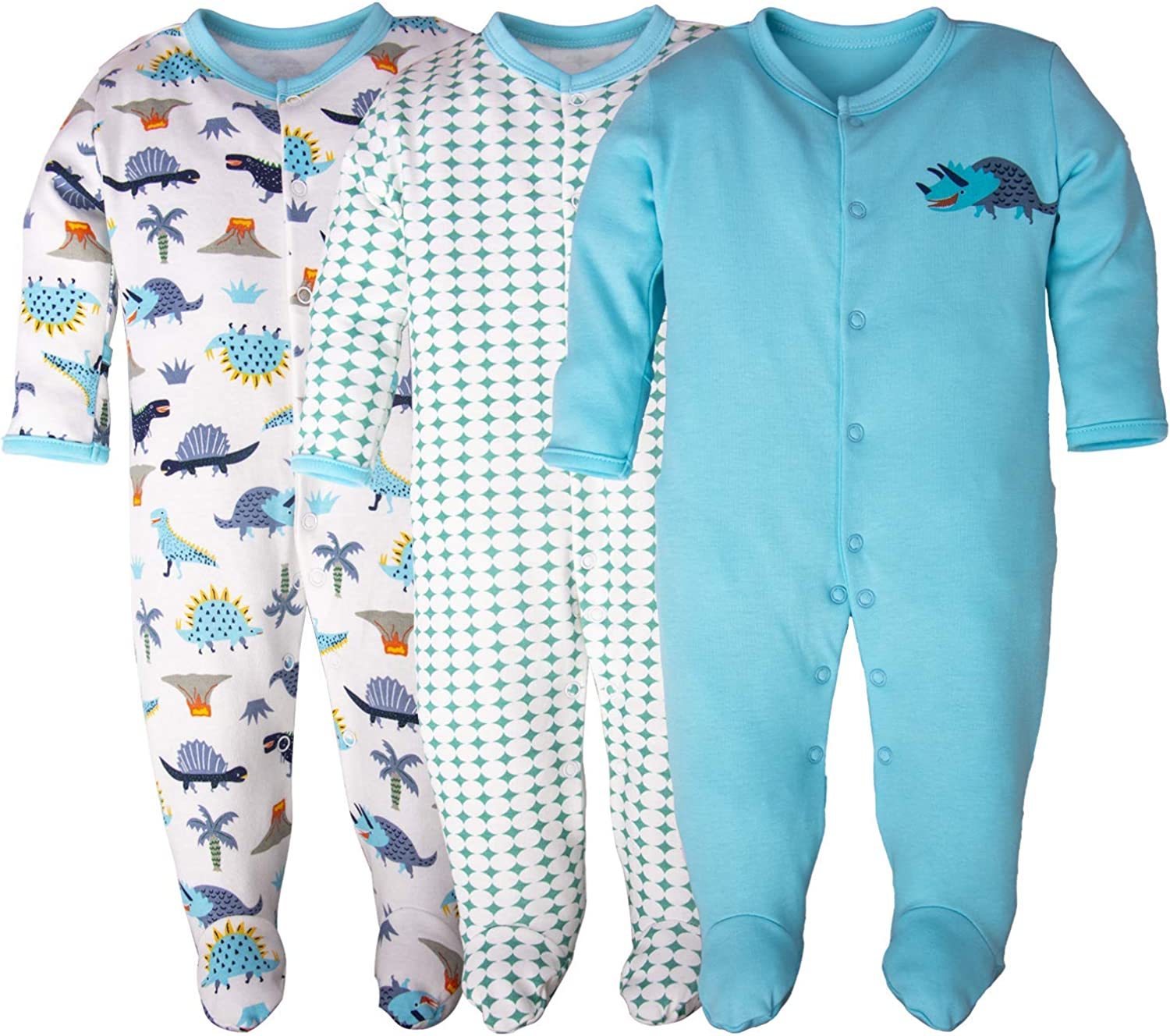Unisex-Toddler Pure Cotton Overall Sleeper