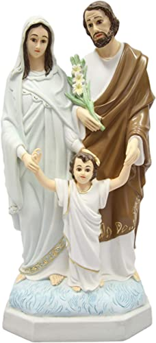 15 Holy Family Joseph Mary Jesus Catholic Religious Statue Figure by Vittoria Collection Made in Italy