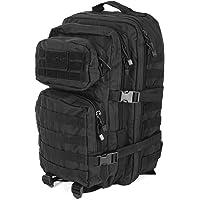Mil-Tec MOLLE Tactical Assault Backpack - Large 36 Litre (Black)