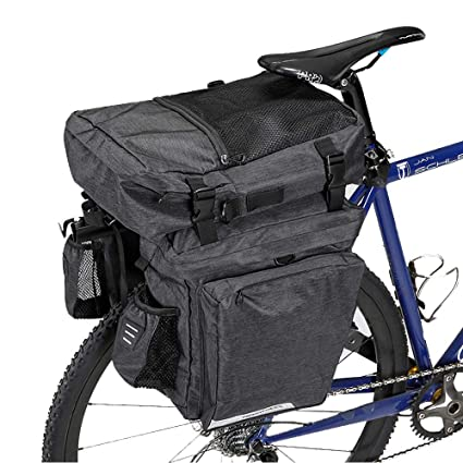 Amazon.com: WOTOW - Bolsa para maletero de bicicleta, 36 L ...