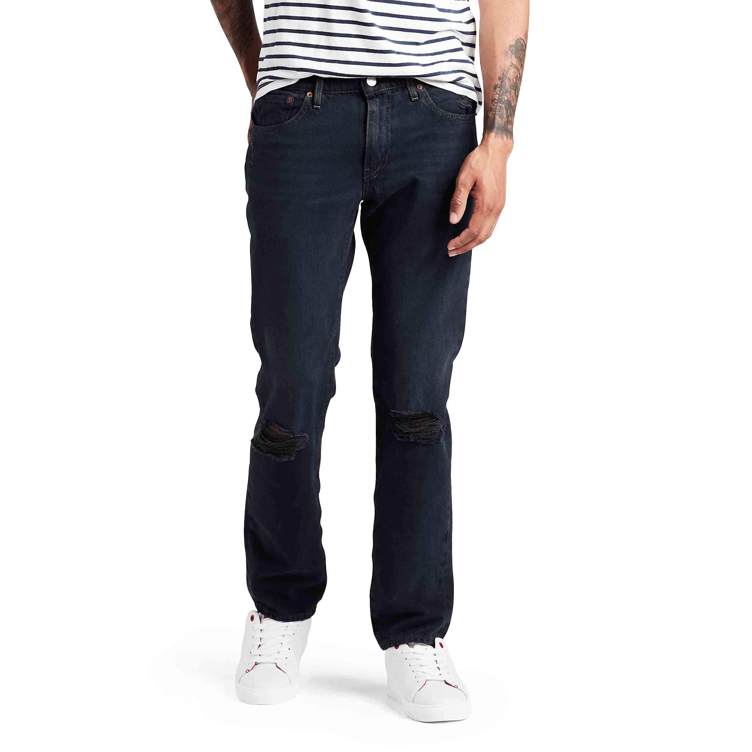 Levi's Men's 511 Slim Fit Stretch Jeans, Black, 31W x 32L