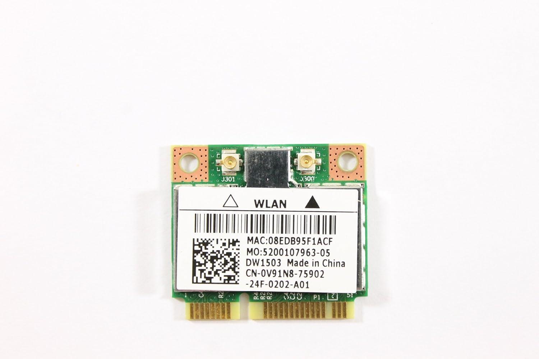 Dell Mini PCI Express Half Height V91N8 WLAN WiFi 802.11n Wireless Card Inspiron N5050