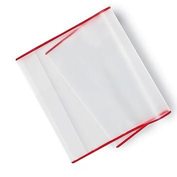 Buchumschlag transparent 265x540 mm