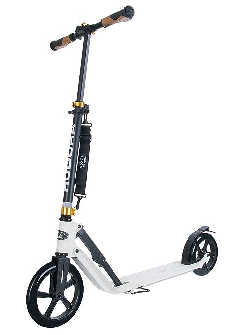 2 opinioni per Hudora 14236- Monopattino Big Wheel Style 230, colore: Bianco