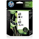 HP 61   2 Ink Cartridges   Black, Tri-color   CH561WN, CH562WN