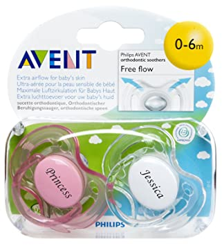 Amazon.com: Regalos personalizados – Philips AVENT chupetes ...