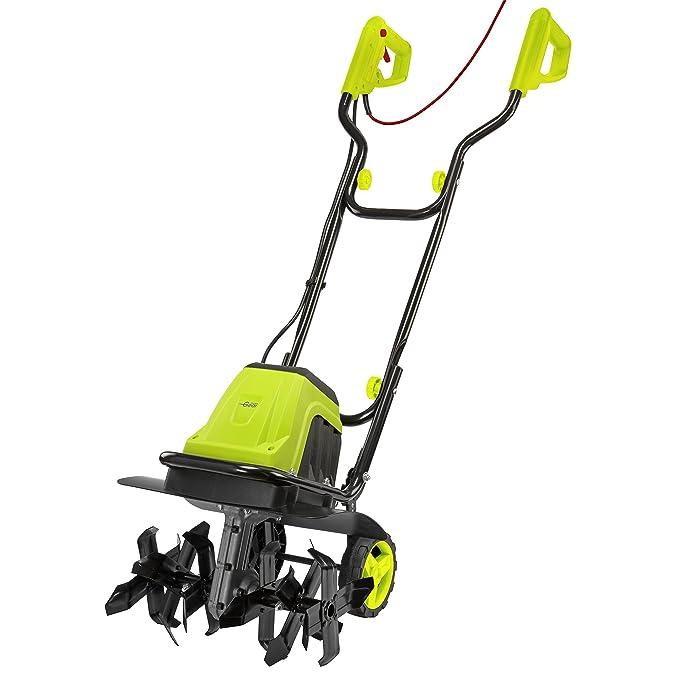 Electric Garden Tiller, Cultivator & Rotavator for Lawn, Vegetable Patch & Allotment, 6 Blades (1400W)