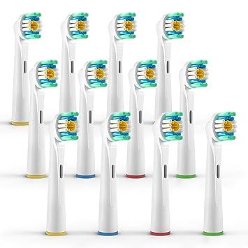 (3x4) Cabezales para cepillos Oral B/3D White (EB18), Cabezales de cepillo dientes eléctrico Oral B: Amazon.es: Salud y cuidado personal