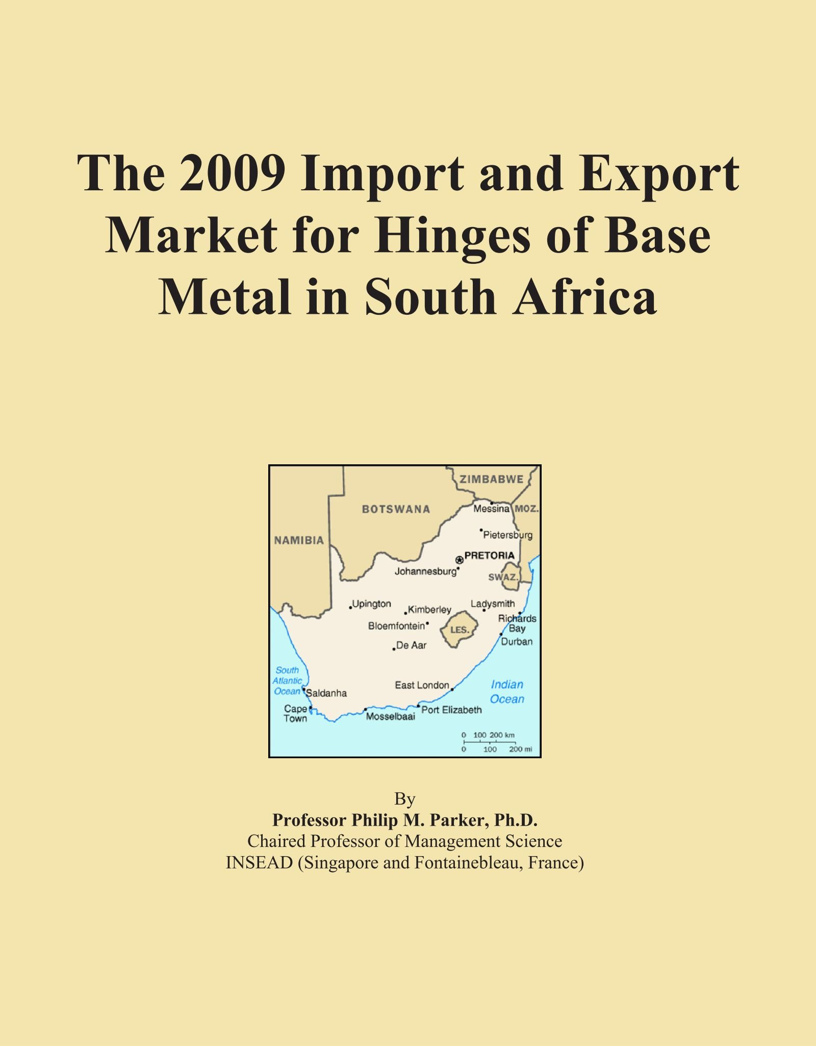 Download The 2009 Import and Export Market for Hinges of Base Metal in South Africa pdf