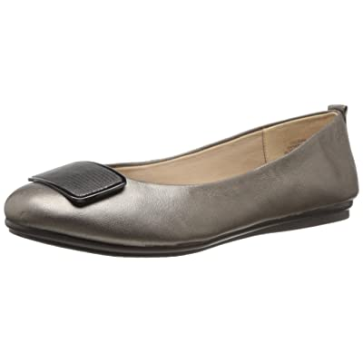 Easy Spirit Women's Godana, Bronze, 6 W US | Flats