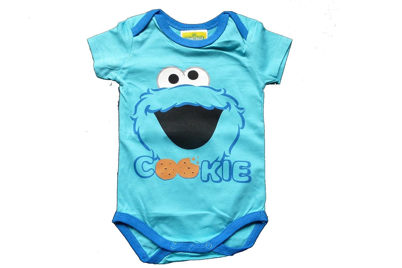 472dcf3fdc Baby Body Jungen/Mädchen - Sesamstraße/Krümelmonster Bodys 2er-Set  (Unisex): Amazon.de: Bekleidung