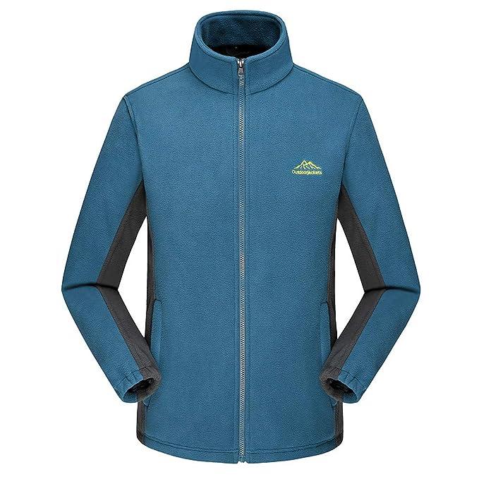 Yvelands Ropa de Hombre Jerseys Al Aire Libre Espesar Fleece Fleece Chaquetas y Abrigo Top Outwear Top: Amazon.es: Ropa y accesorios