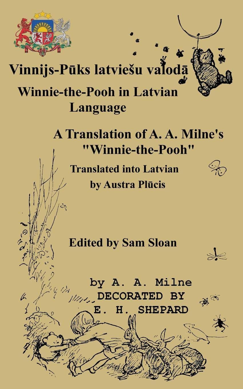 Amazon com: Winnie-the-Pooh in Latvian Language A