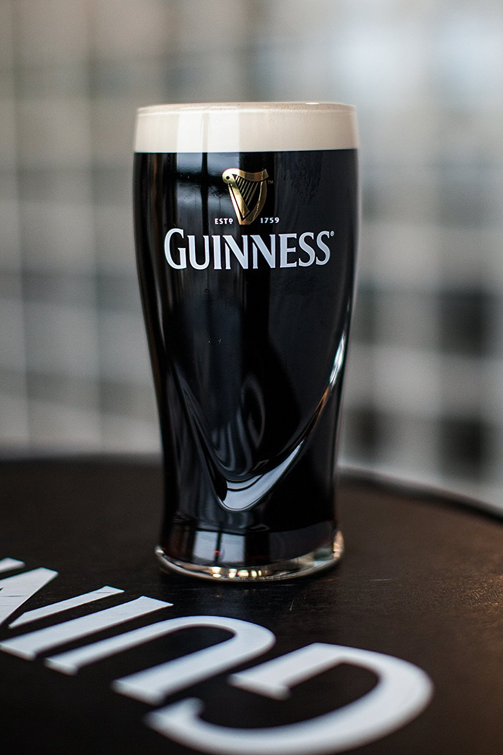 Guinness Gravity Pint Glass (1 Pack)
