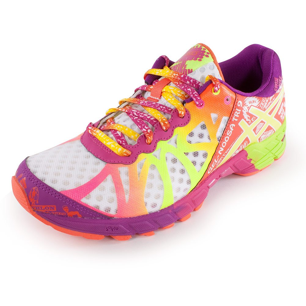 premium selection f77ed 2bc13 ASICS Gel-Noosa Tri 9 Womens Running Shoe  Amazon.co.uk  Shoes   Bags