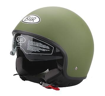BHR 93249 Casco, Color Verde Militar, Talla 53-54 cm