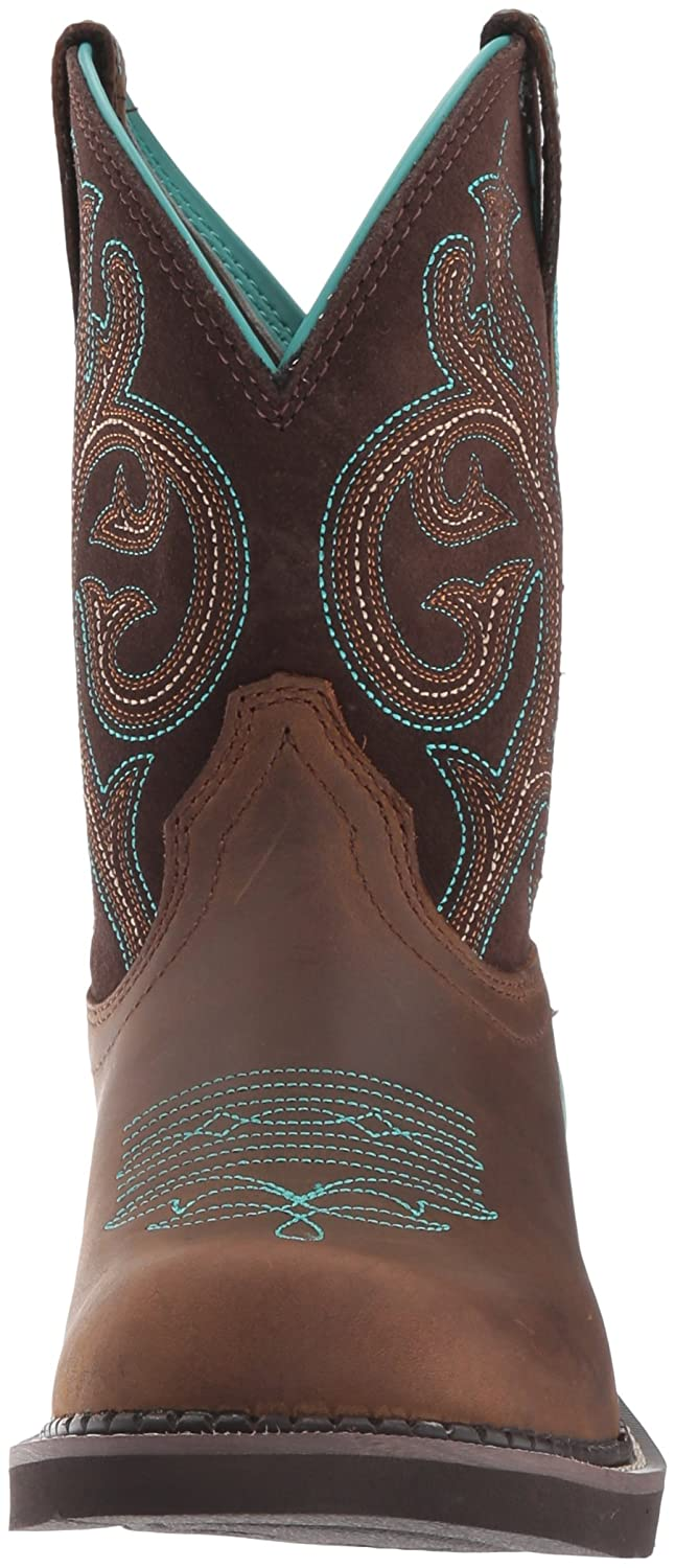 Ariat Women Women's Fatbaby Collection Western Cowboy Boot B01ND199ZG 6.5 B(M) US Distressed Brown/ Fudge