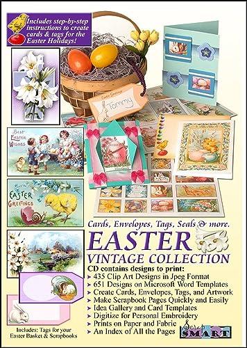 Amazon Scrapsmart Easter Vintage Collection Cards Envelopes