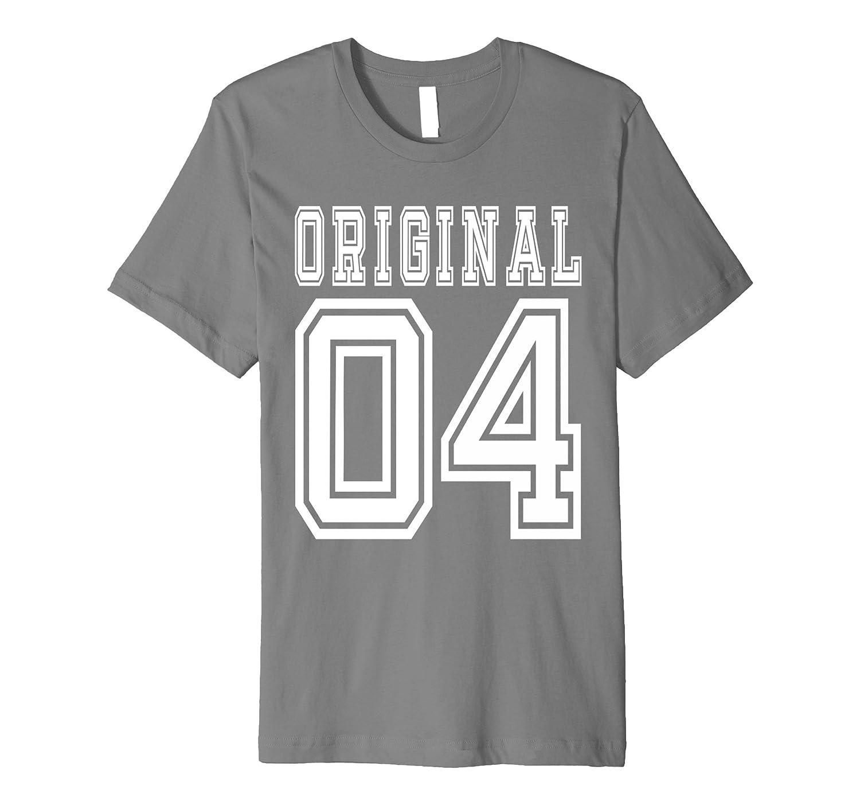 2004 T-shirt 13th Birthday Gift 13 Year Old Boy Girl Bday F-PL