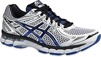 ASICS GT-2000 2 (T3P4N) Zapatillas de correr para hombre, White / Blue / Black, UK 16 / EU 53 / US 17 / CM 34.0: Amazon.es: Deportes y aire libre