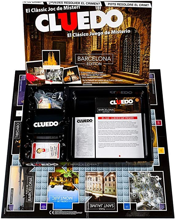 Winning Moves Cluedo Barcelona (82233), multicolor (ELEVEN FORCE ...
