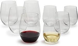 Riedel O Mixed Cabernet/ViognierTumbler, Set of 6 Plus 2 Bonus Glasses