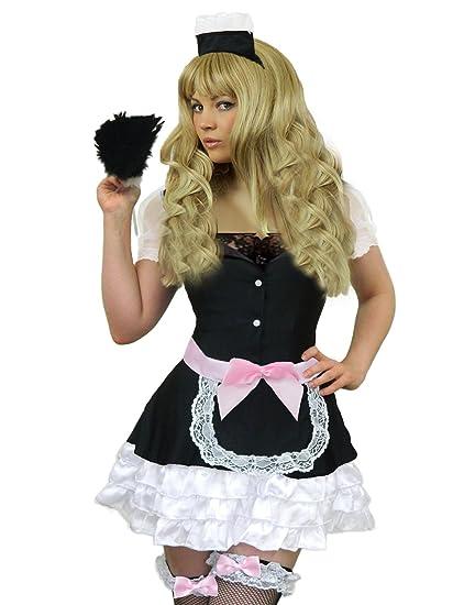 Amazon Yummy Bee Sexy French Maid Costume Plus Size 8 18 Fancy