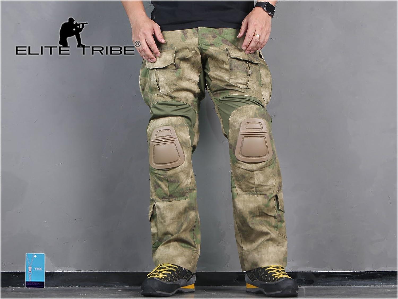 Pantalones de los hombres de paintball airsoft militar combate pantalones Gen3 tácticas con rodillera AT/FG Military Outdoor